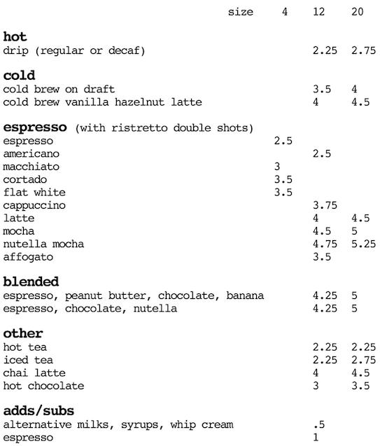 refill-coffee-menu
