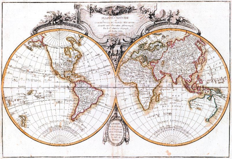 What s New  World Old Nautical Chart