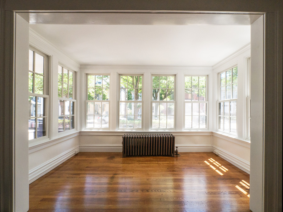 Restored sunroom