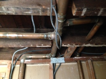 notched floor joists