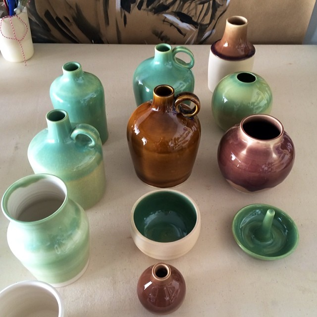 Fresh from the kiln.