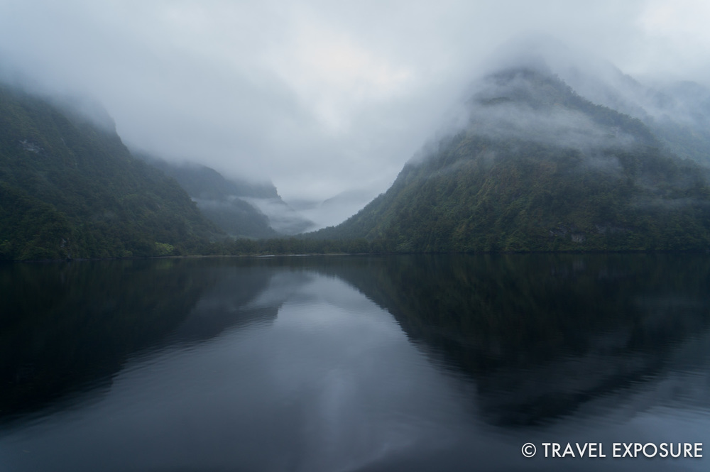 WEEK OF JANUARY 20 Drifting in the remote and mystical waters of Doubtful Sound in Fiordland National Park, New Zealand.