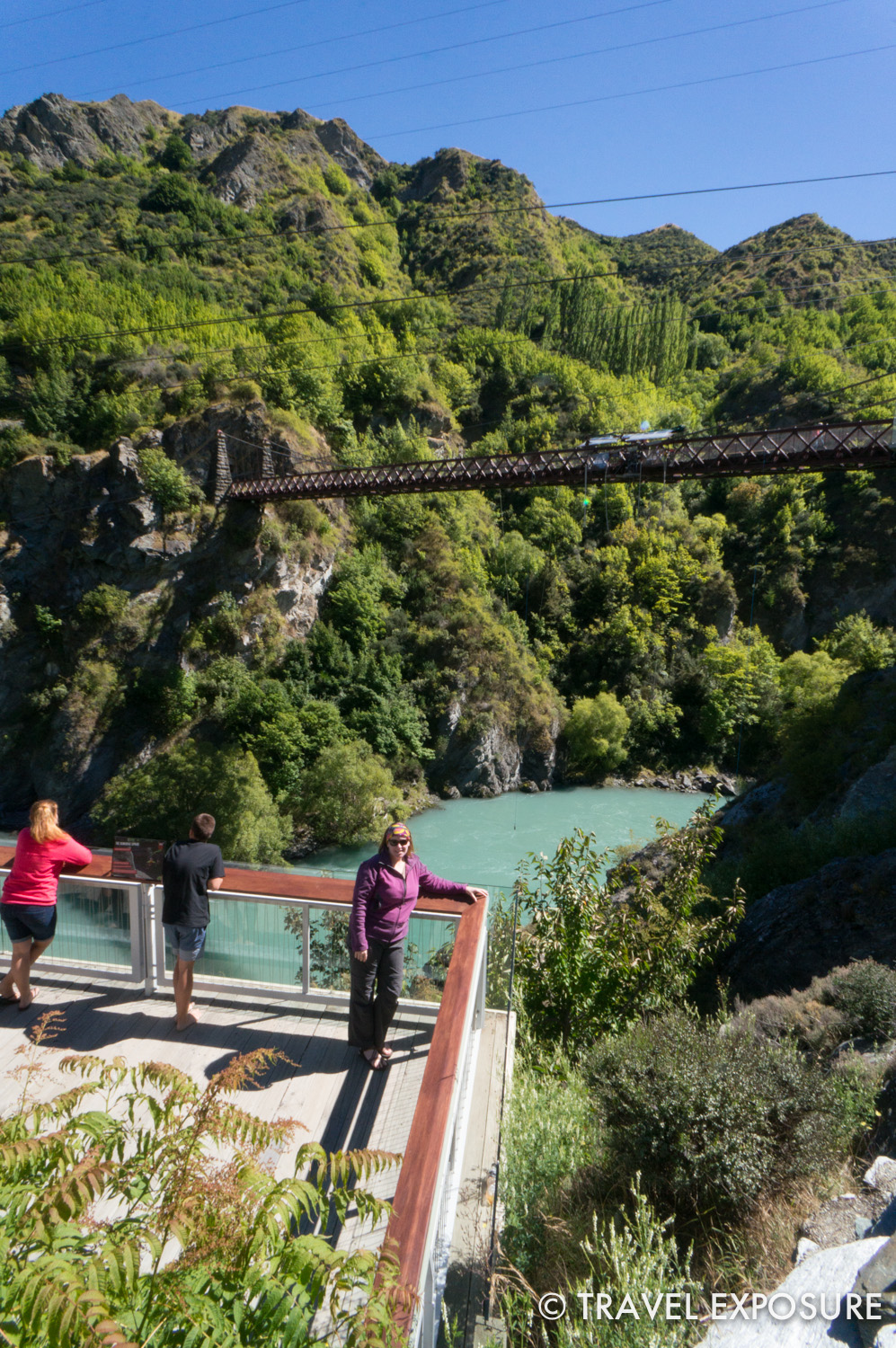 AJ Hackett Bungy near Queenstown