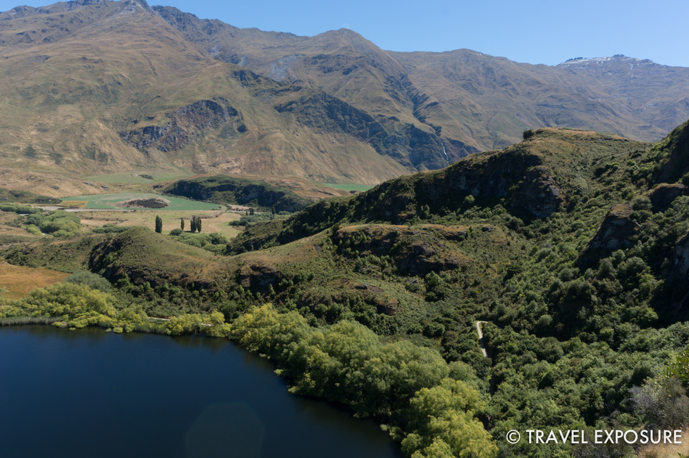 Hiking around Diamond Lake near Wanaka