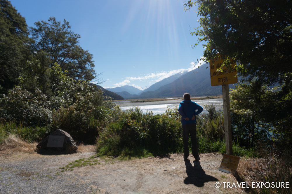 On the way to Franz Josef Glacier