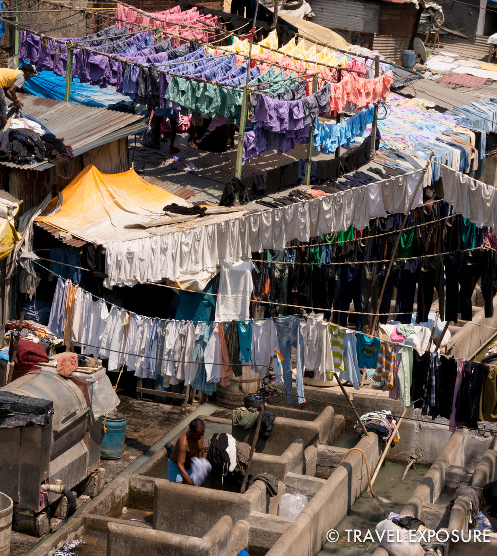 WEEK OF MARCH 3 A dhobi (washerman) working at Mahalaxmi dhobi ghat, the world's largest open air laundry, in Mumbai, India.