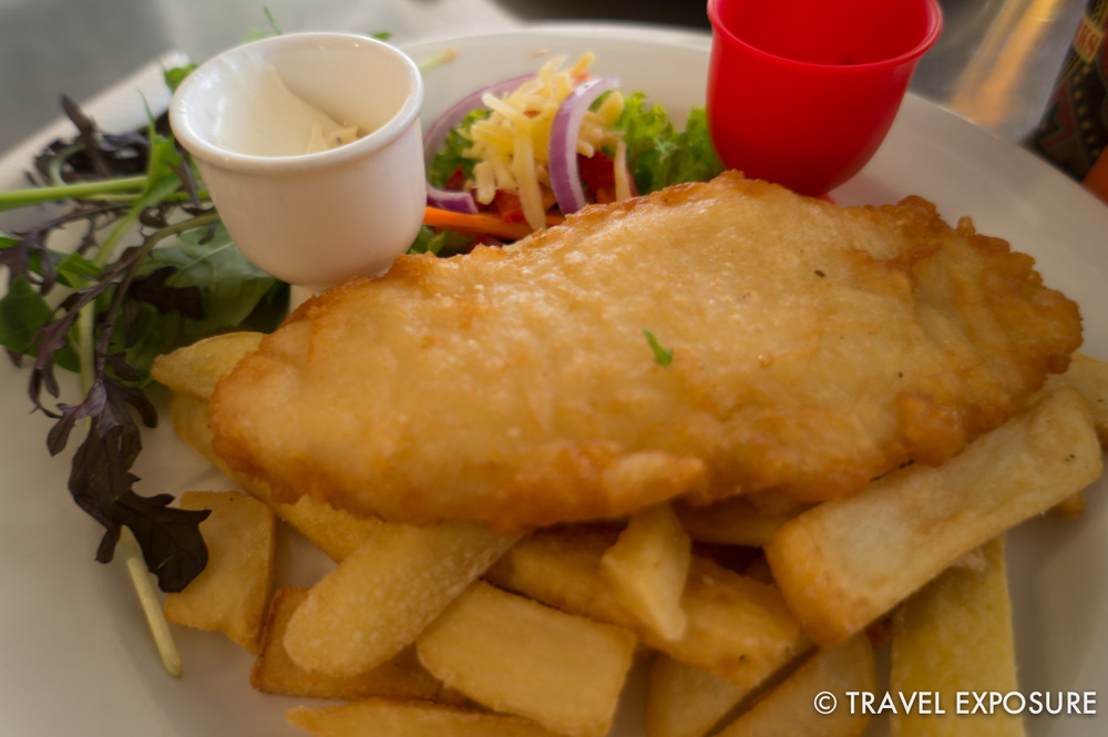 Fish n chips in Napier