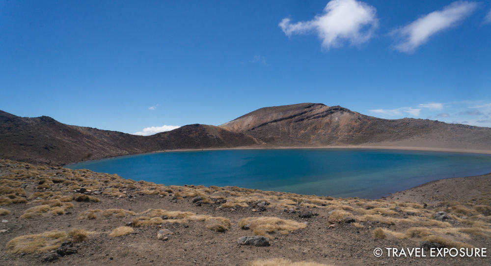 Tongariro Alpine Crossing Hike - Blue Lake