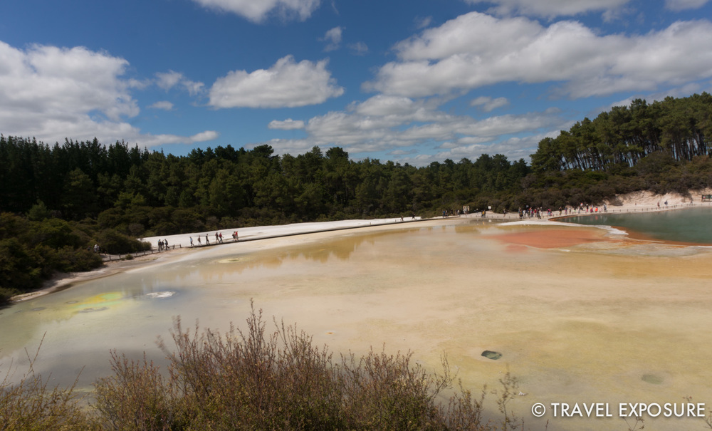 Artist's Palette at the Wai-O-Tapu thermal wonderland