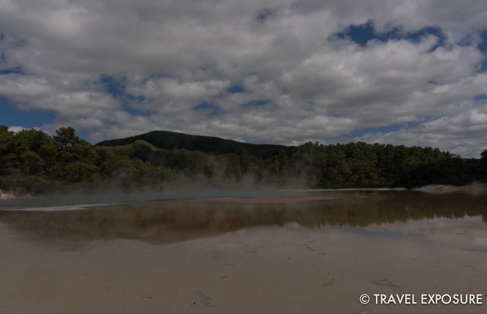 The Champagne Pool at the Wai-O-Tapu thermal wonderland