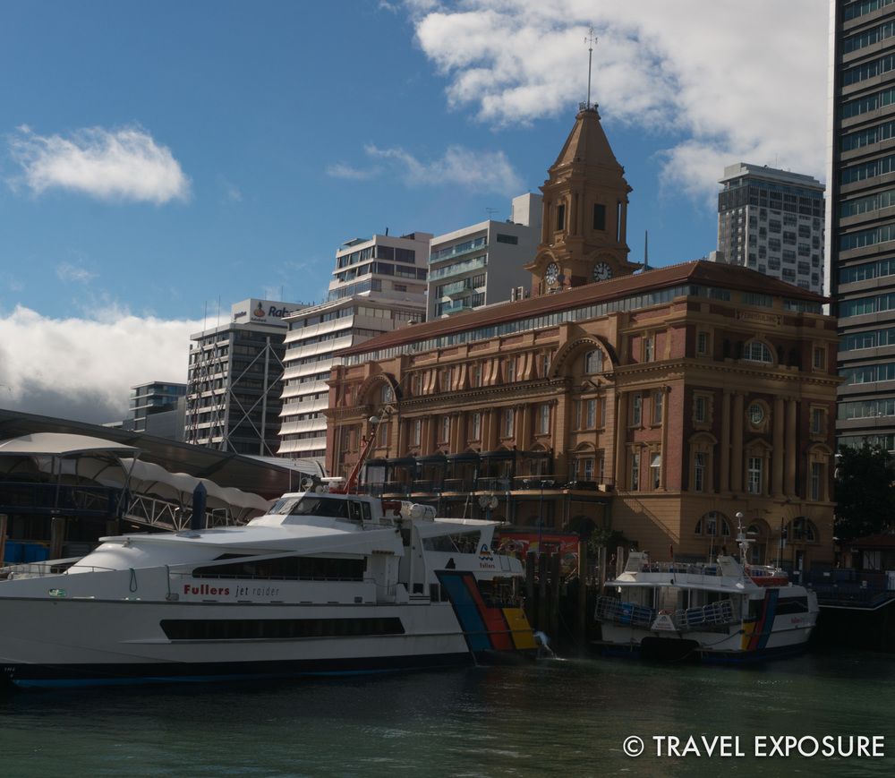 Custom house in Auckland