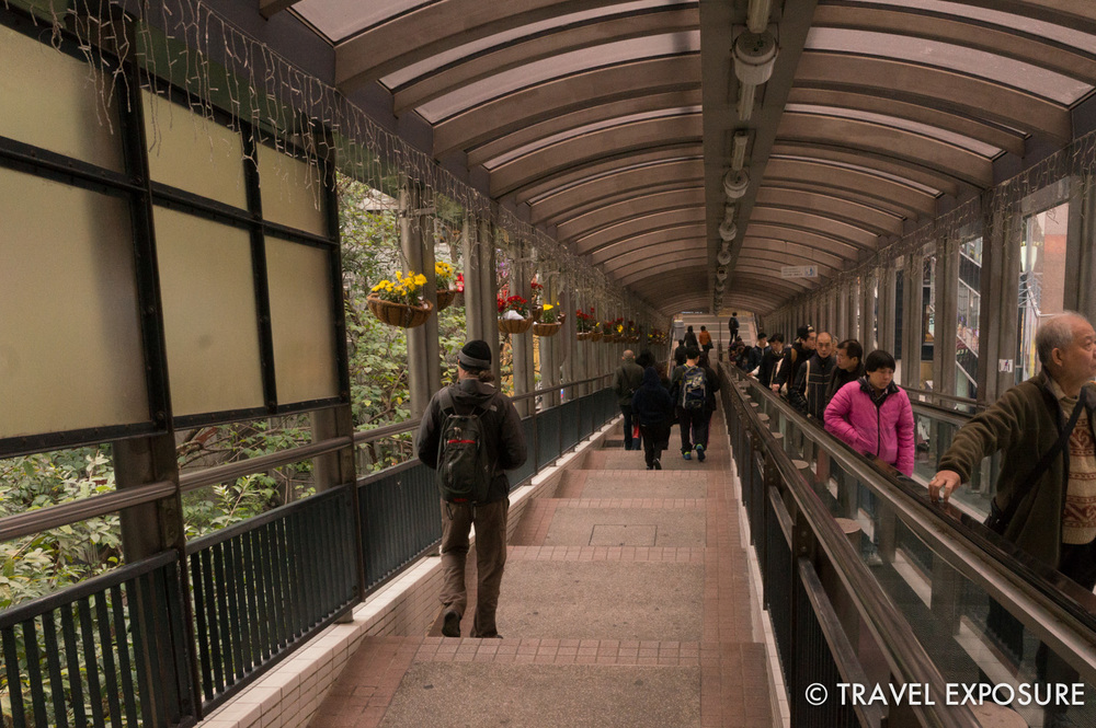 TheCentral–Mid-Levels escalator and walkway systemare the longest outdoor covered escalator system in the world
