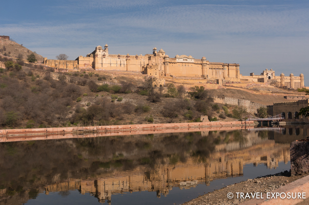 One of my favorites...the Amber Fort/Palace in Jaipur. The present structure was mostly built under the rule of a King named Man Singh from 1590-1614.