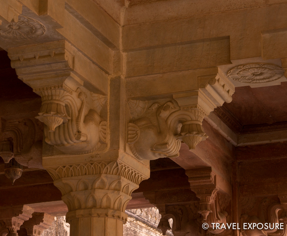 Elephants have been worshipped in Hindu culture for centuries and appear often in India's art and architecture.