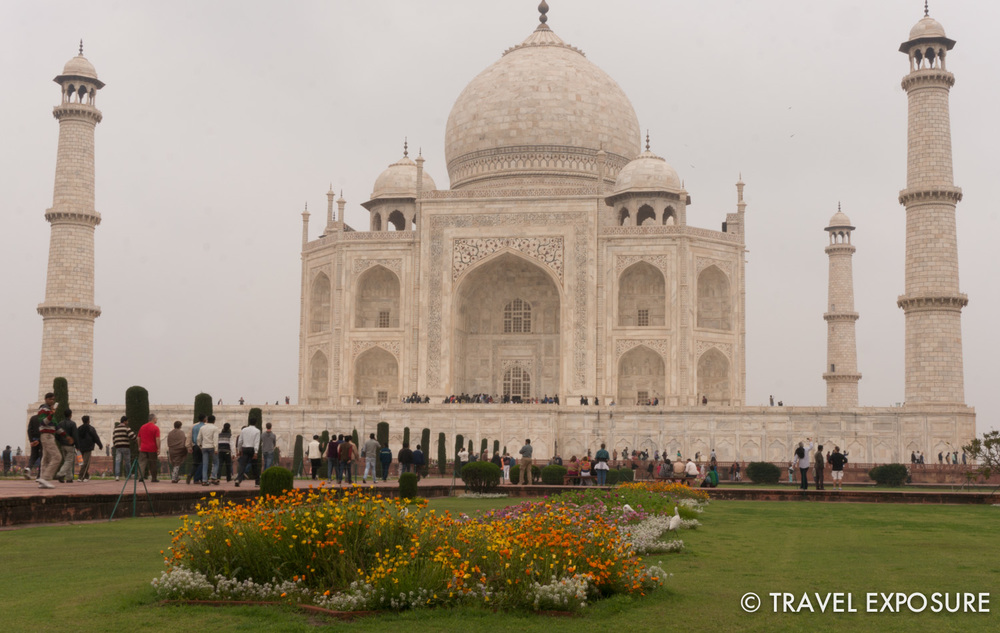 The elegant and majestic Taj Mahal, completed in 1653, is said to bethe finest exampleof Mughal architecture.