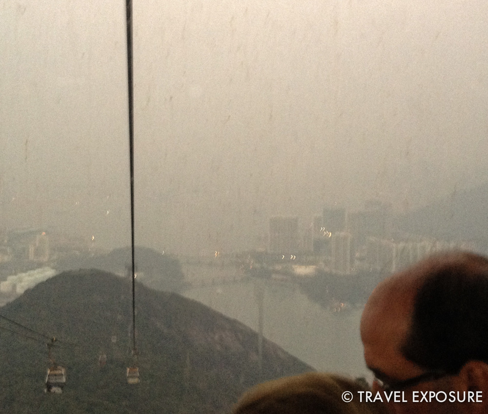 Cable car ride to Ngong Ping and the Tian Tan Buddha