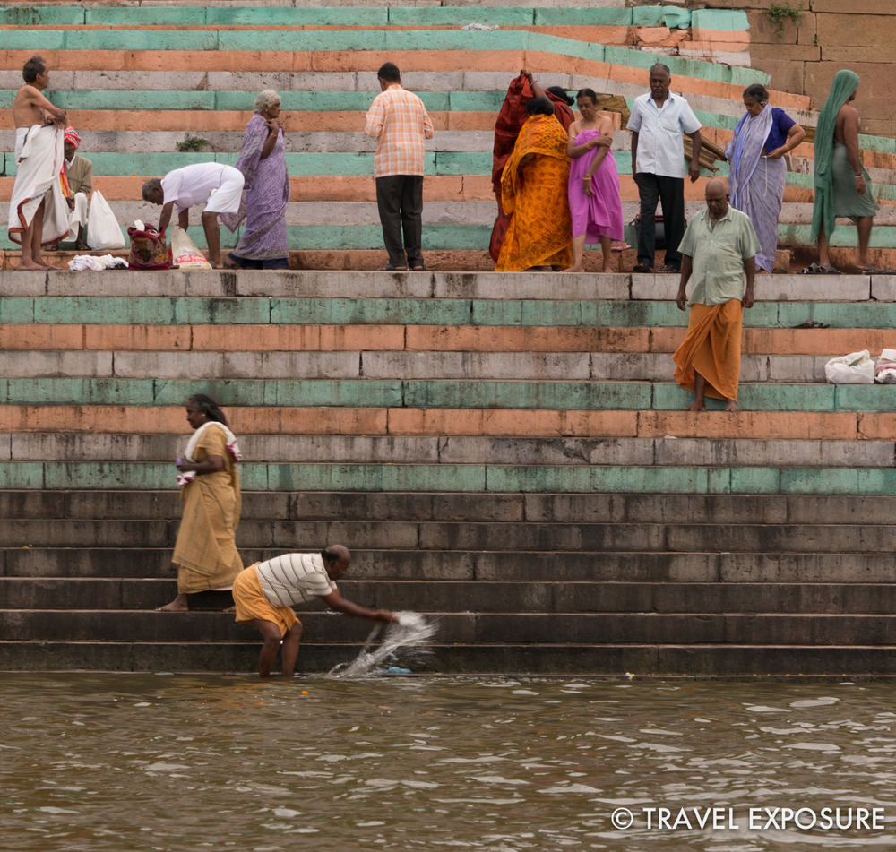 Despite being the fifth most polluted river in the world, the waters of the Ganges are thought to be cleansing. Bathing the Ganges is thought to wash away the sins of a lifetime.