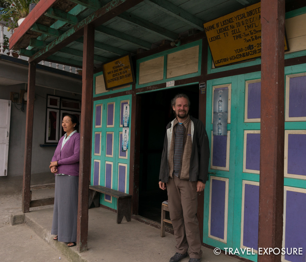 In thesmall village of Kewzing, Sikkim - it was like stepping back in time
