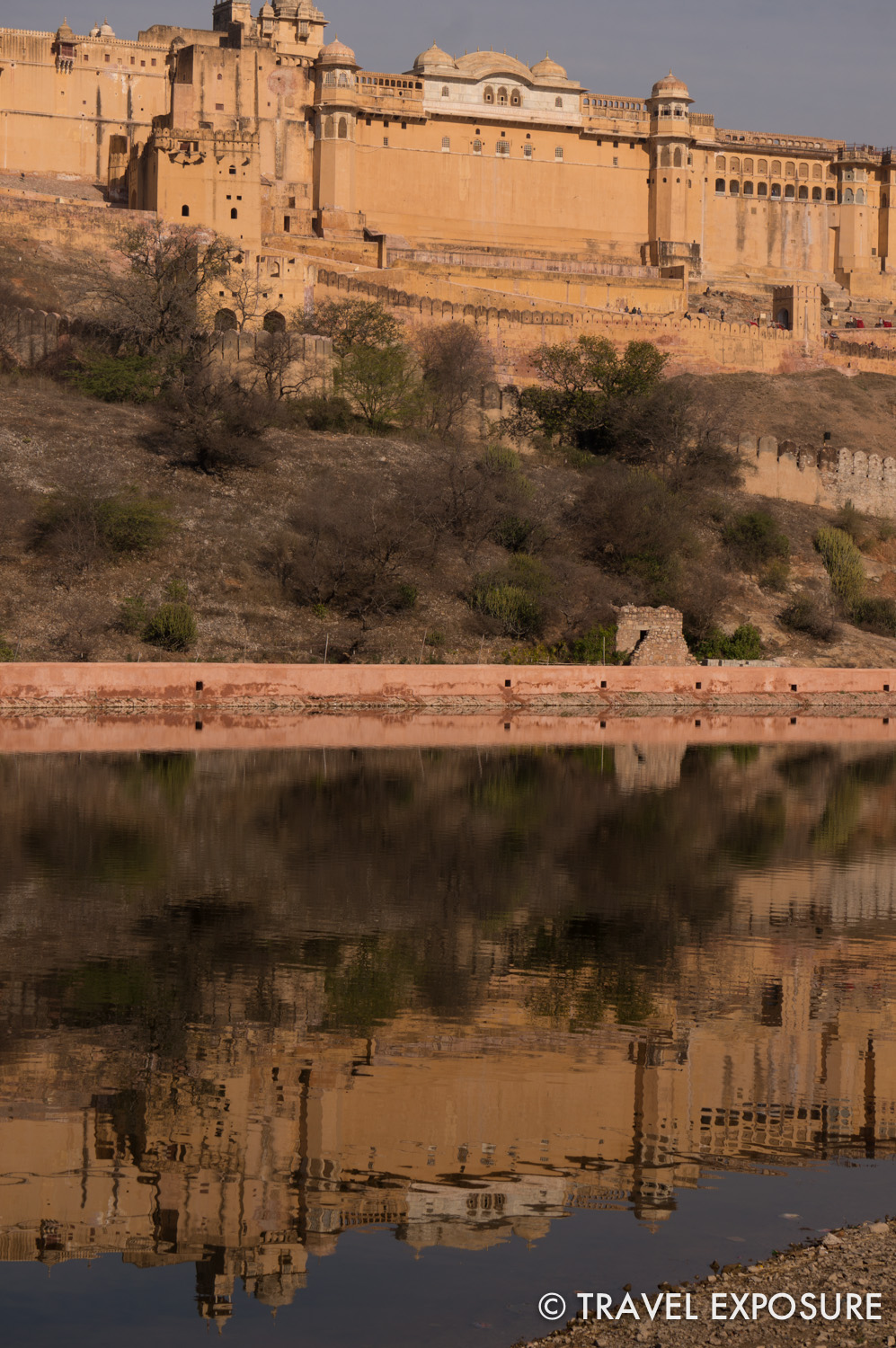 The Amber Fort/Palace in Jaipur