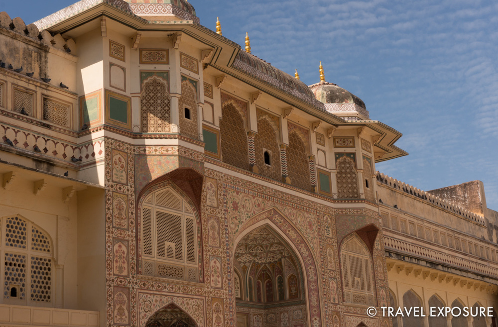The Ganesh Gate at t  he Amber Fort/Palace in Jaipur