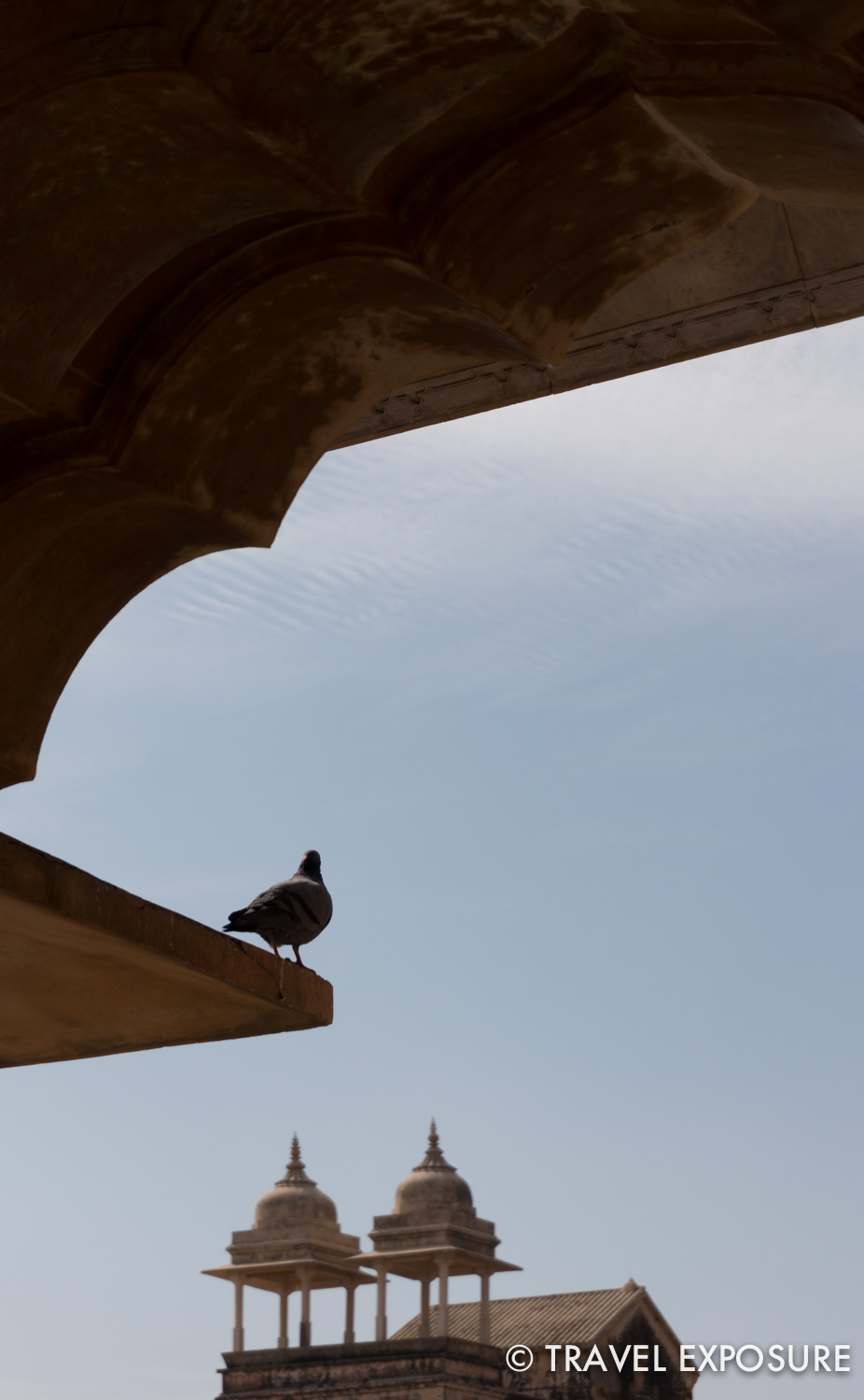 T  he Amber Fort/Palace in Jaipur