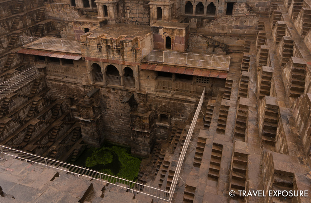 Abhaneri Step Well built during the 8th and 9th century