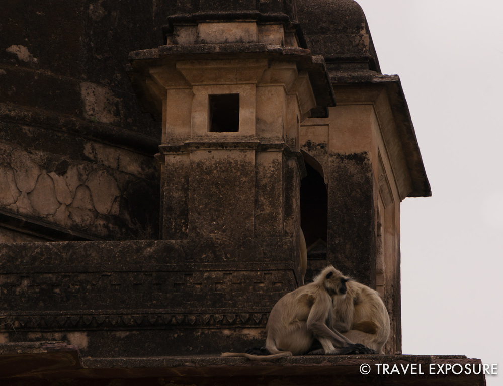 Cenotaphs in Orchha,memorials to past rulers