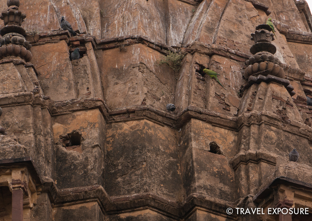 Cenotaphs in Orchha,  memorials to past rulers