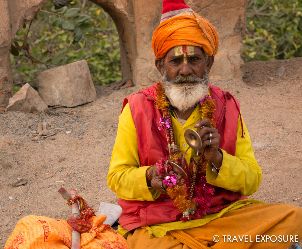 Villager in Orchha