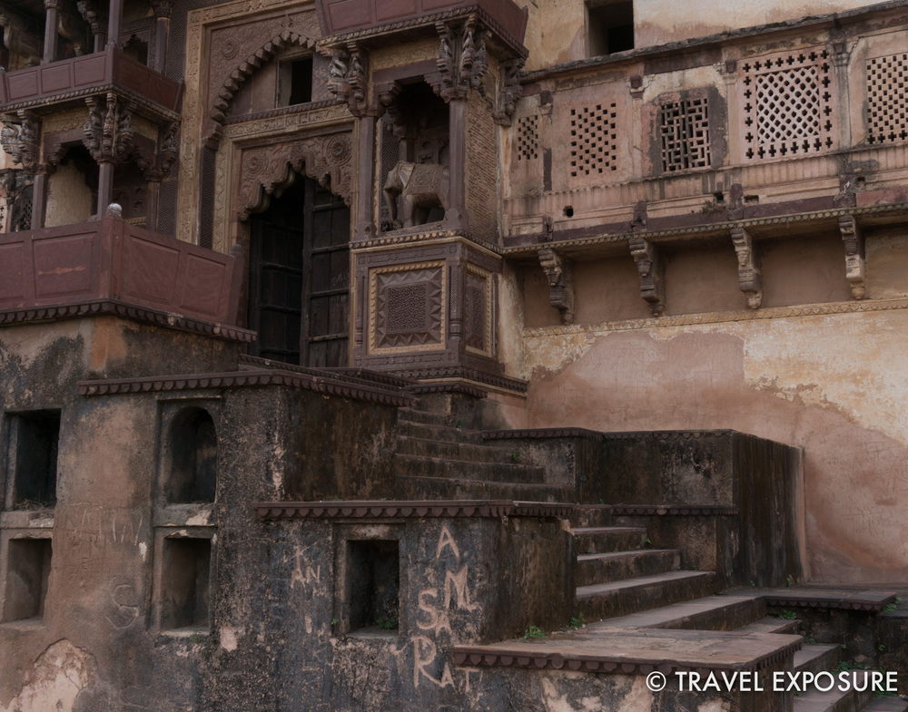 Fort complex in Orchha