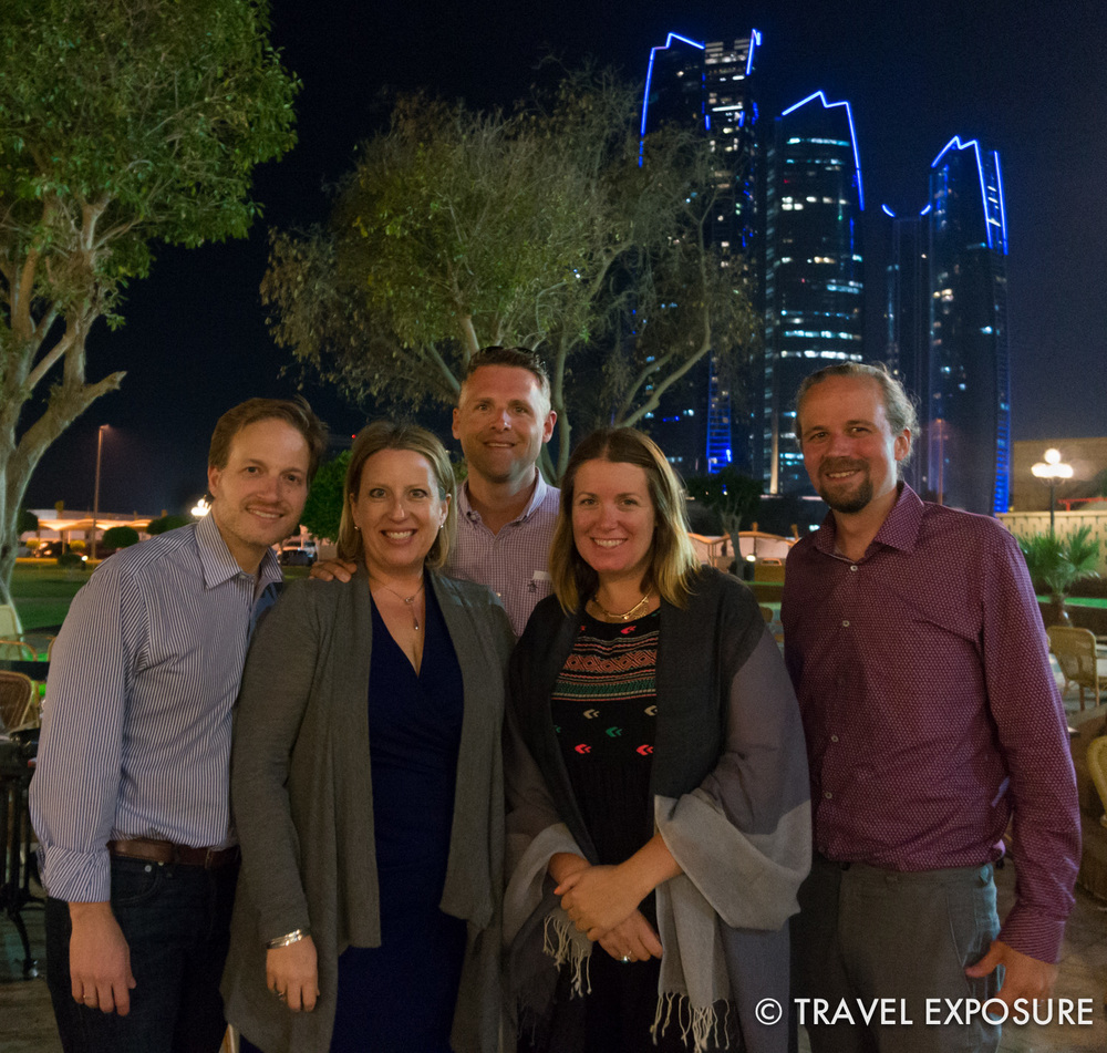 (L to R: Kyle, Kathy, Brian, me, Root) We met up with Kathy's cousin Kyle from New York. He was in town with the American Ballet Theater (he is the Company Manager) and that night we were treated to a performance of Coppélia, a light-hearted ballet, at the exquisite Emirates Palace.