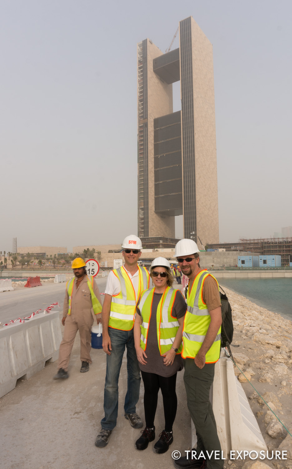 In the middle of one of the newest reclaimed islands in Bahrain is the upcoming Four Seasons Hotel. Our friend Brian is the on-site architect overseeing the design and construction and gave us a tour.