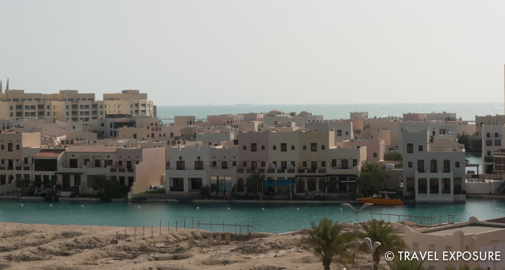 View from Kathy and Brian's apartment balcony in Bahrain.