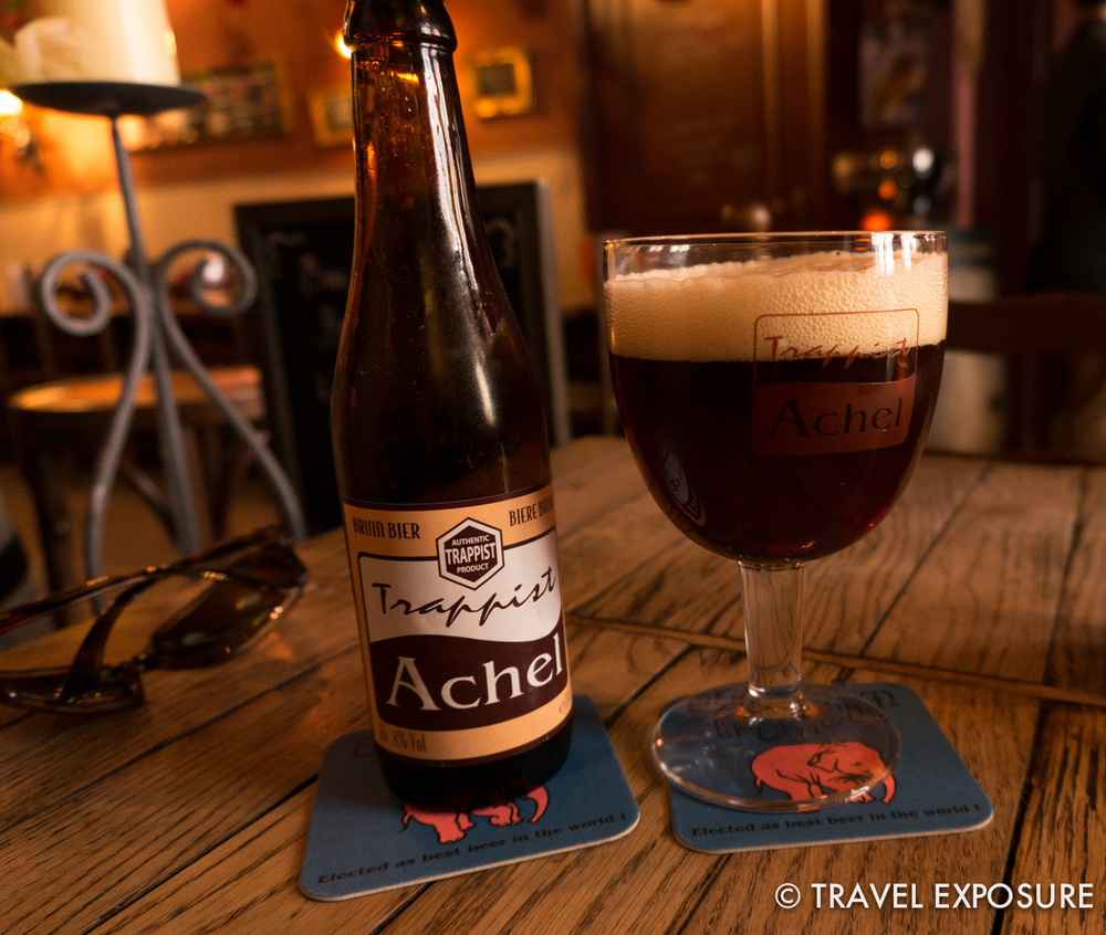 Can't go wrong with a monk-brewed beer