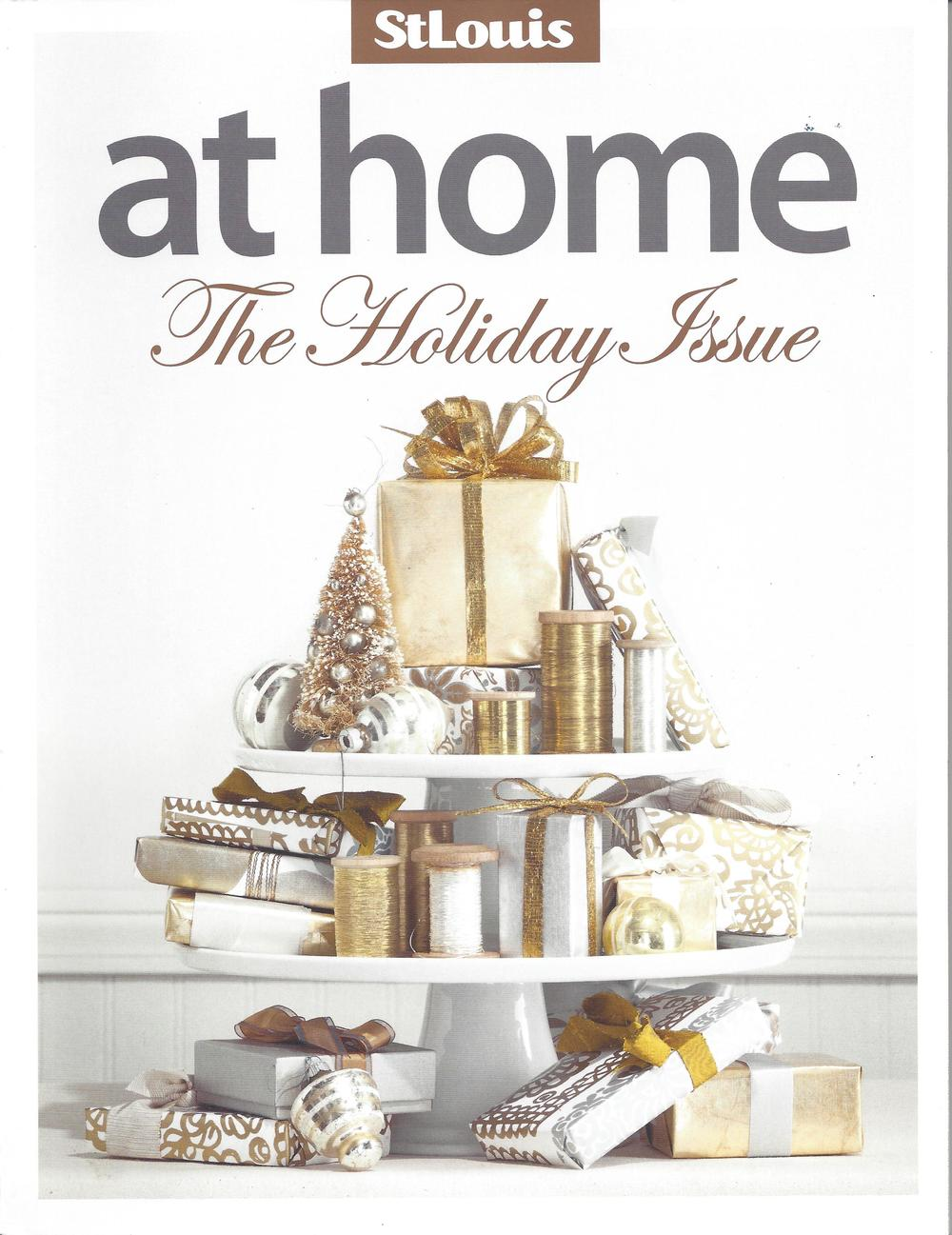 Winter 2013 Special Advertising Section Designer: Suzanne Tullock Interiors