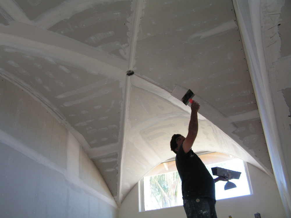 Drywall Hanging, Taping and Finishing - From a small patch to large industrial/commercial projects.