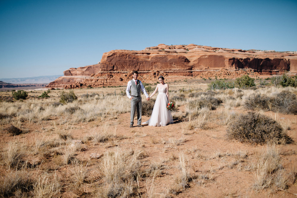 Suzanne & Villiam Wedding | Moab, UT