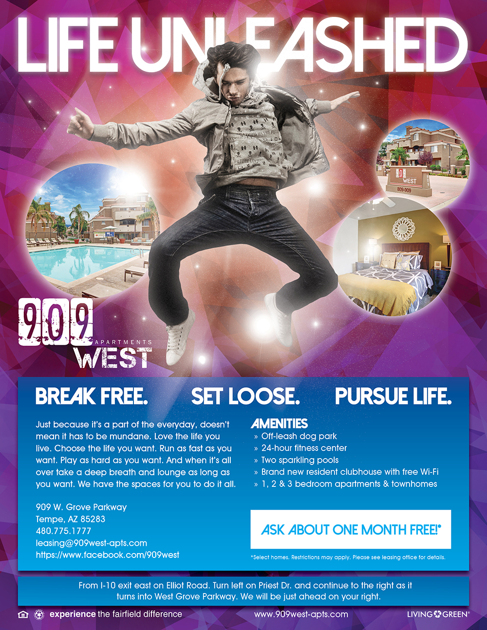 Life Unleashed Flyer - 1