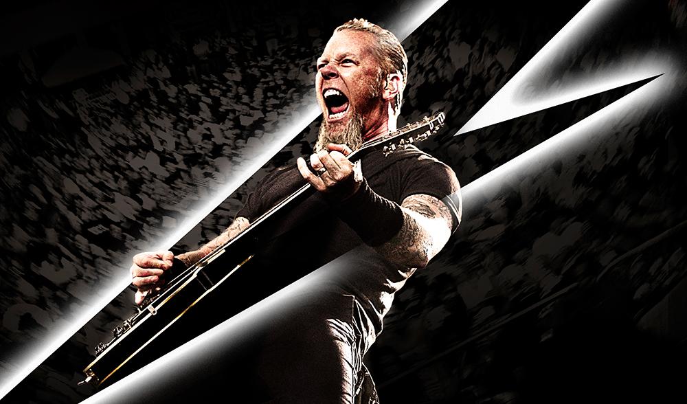 Rock: James Hetfield