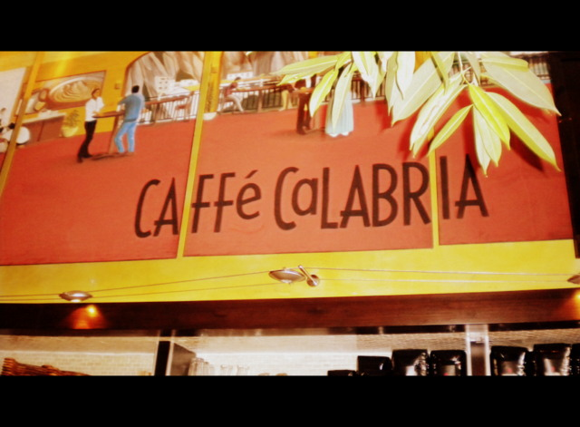 Caffe Calabria. North Park's Italian style coffee house.