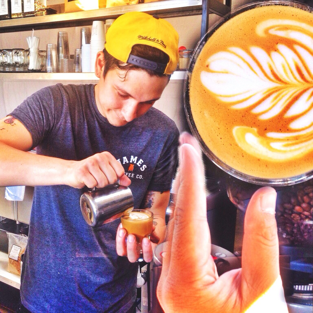 Dylan, James Coffee Co.
