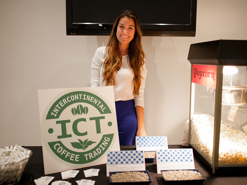 Sasha Boubion, Marketing & Logistics Coordinator at InterContinental Coffee Trading. Photo by Julie Rings.