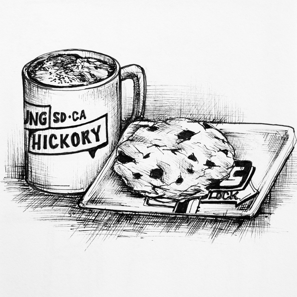 Young Hickory. Illustration by Mary Jhun Dandan.