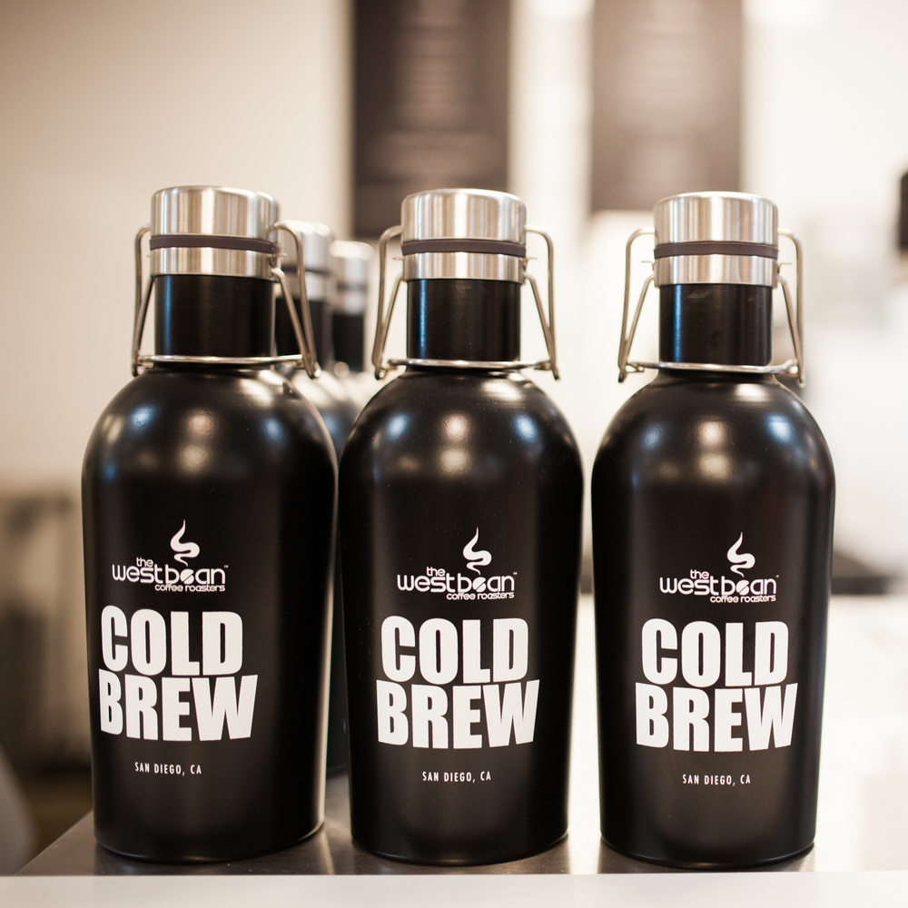 Cold Brew Growlers. Photo by Julie Rings
