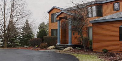 A stunning custom-built contemporary on 1.7 acres just minutes from Binghamton University!