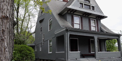 A gloriously restored 1880's home in the heart of Binghamton's West Side. Includes lush grounds and views of the river.