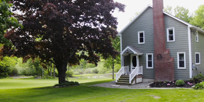 Check out hi-res photos and a virtual tour of this beautiful, updated 2-story Farmhouse on over 6.5 acres with a pond.