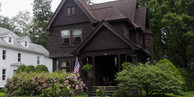 Turn-of-the-Century historic home in the heart of Owego. Filled with oak, cherry, and gracious charm.