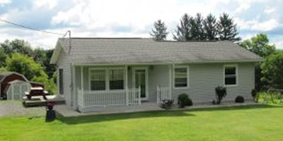 A lovely updated Ranch on 2.7 acres in the Chenango Valley school district.