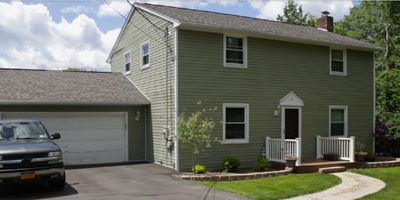 Updated 2-story Colonial on a large lot, close to town.